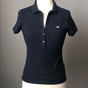 Lacoste Navy Blue Shirt size 40